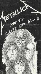 Metallica - Home Vid Cliff Em All - Poster / Capa / Cartaz - Oficial 1