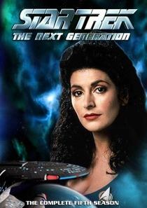 Jornada nas Estrelas: A Nova Geração (5ª Temporada) - Poster / Capa / Cartaz - Oficial 1