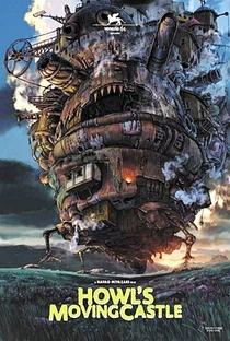 O Castelo Animado - Poster / Capa / Cartaz - Oficial 12