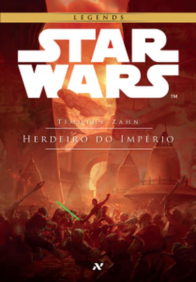 """Star Wars: """"Herdeiro do Império"""", 1ª parte da """"Trilogia Thrawn"""", já está à venda"""