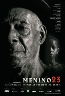 Menino 23: Infâncias Perdidas no Brasil - Poster / Capa / Cartaz - Oficial 1