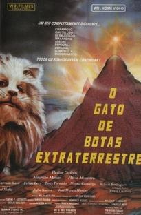 O Gato de Botas Extraterrestre - Poster / Capa / Cartaz - Oficial 1