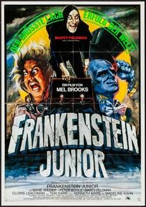 O Jovem Frankenstein - Poster / Capa / Cartaz - Oficial 2