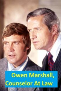 Owen Marshall, Counselor at Law (1ª Temporada) - Poster / Capa / Cartaz - Oficial 1