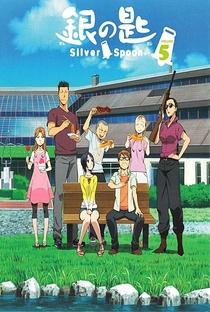 Gin no Saji (1ª Temporada) - Poster / Capa / Cartaz - Oficial 7