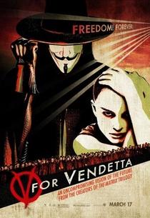 V de Vingança - Poster / Capa / Cartaz - Oficial 1