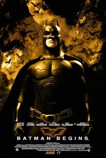 Batman Begins - Poster / Capa / Cartaz - Oficial 5