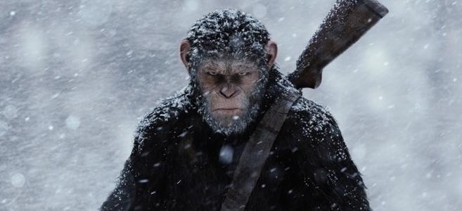 Bilheterias Brasil | Planeta Dos Macacos: A Guerra lidera o ranking