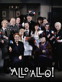 'Allo 'Allo! (1ª temporada) - Poster / Capa / Cartaz - Oficial 2