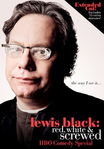 Lewis Black: Red, White and Screwed - Poster / Capa / Cartaz - Oficial 1