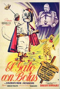 O Gato de Botas - Poster / Capa / Cartaz - Oficial 1
