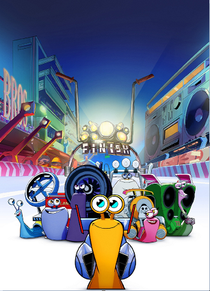 Turbo FAST (1ª Temporada) - Poster / Capa / Cartaz - Oficial 1