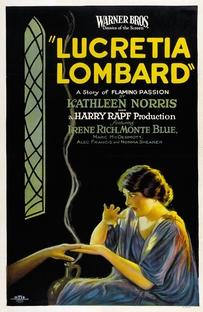 Lucretia Lombard - Poster / Capa / Cartaz - Oficial 1