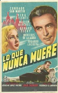Lo que Nunca Muere - Poster / Capa / Cartaz - Oficial 1