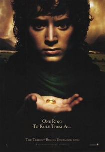O Senhor dos Anéis: A Sociedade do Anel - Poster / Capa / Cartaz - Oficial 1