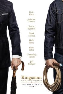 Kingsman: O Círculo Dourado - Poster / Capa / Cartaz - Oficial 2