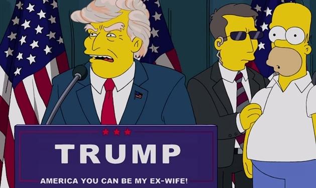Presidência de Donald Trump foi prevista em episódio de Os Simpsons há 16 anos