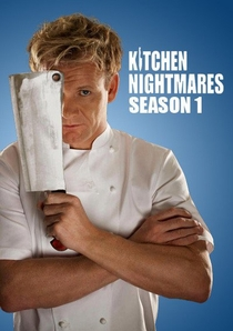 Kitchen Nightmares - 1ª Temporada - Poster / Capa / Cartaz - Oficial 1