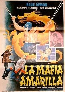 Blue Demon en La Mafia Amarilla - Poster / Capa / Cartaz - Oficial 1