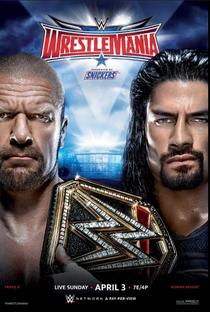 WrestleMania - Poster / Capa / Cartaz - Oficial 1