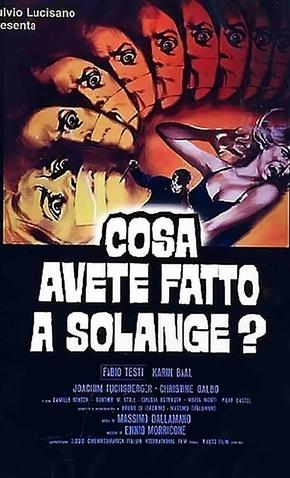 O Quê Vocês Fizeram com Solange? - 9 de Março de 1972 | Filmow