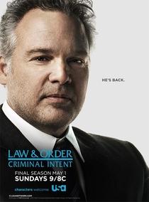 Lei & Ordem: Criminal Intent (10ª Temporada) - Poster / Capa / Cartaz - Oficial 1