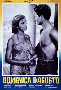 Domingo de Agosto - Poster / Capa / Cartaz - Oficial 1