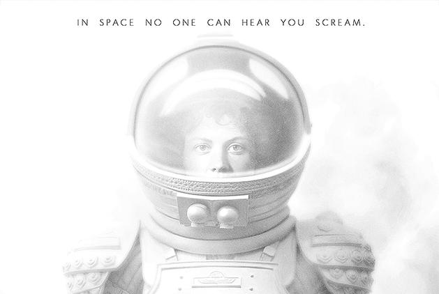 Alien: clássico do terror sci-fi ganha belos pôsteres comemorativos de seus 35 anos