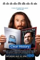 Apagar Histórico  (Clear History)