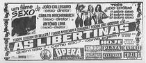 As Libertinas - Poster / Capa / Cartaz - Oficial 1