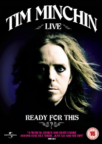 Tim Minchin - Ready For This? Ao Vivo - Poster / Capa / Cartaz - Oficial 1