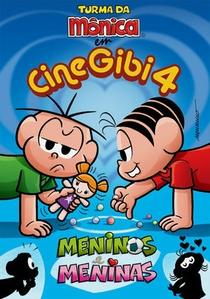 Turma da Mônica: CineGibi 4 - Meninos e Meninas - Poster / Capa / Cartaz - Oficial 2