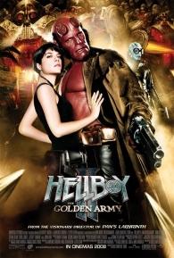 Hellboy II: O Exército Dourado - Poster / Capa / Cartaz - Oficial 2