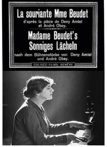 A Sorridente Madame Beudet - Poster / Capa / Cartaz - Oficial 2