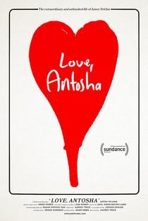 Love, Antosha - Poster / Capa / Cartaz - Oficial 1