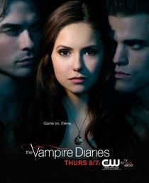 The Vampire Diaries (2ª Temporada) - Poster / Capa / Cartaz - Oficial 4