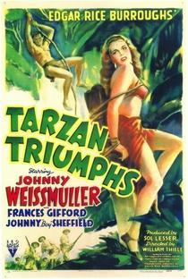 Tarzan, O Vencedor - Poster / Capa / Cartaz - Oficial 1