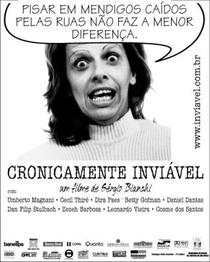 Cronicamente Inviável - Poster / Capa / Cartaz - Oficial 2