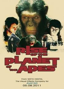 Planeta dos Macacos: A Origem - Poster / Capa / Cartaz - Oficial 5
