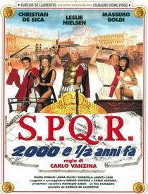 S.P.Q.R. 2000 e 1/2 anni fa - Poster / Capa / Cartaz - Oficial 1