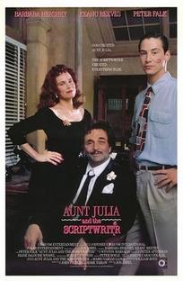 Tia Júlia e o Escrevinhador - Poster / Capa / Cartaz - Oficial 1