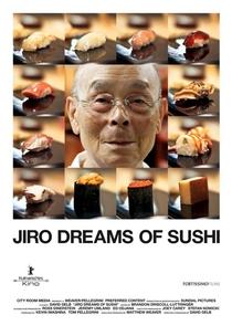 O Sushi dos Sonhos de Jiro - Poster / Capa / Cartaz - Oficial 1