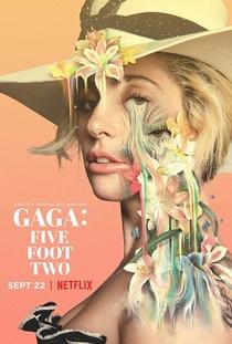 Gaga: Five Foot Two - Poster / Capa / Cartaz - Oficial 1