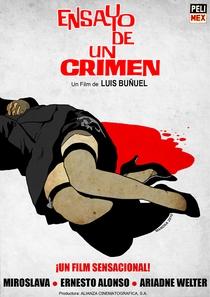 Ensaio de um Crime - Poster / Capa / Cartaz - Oficial 1