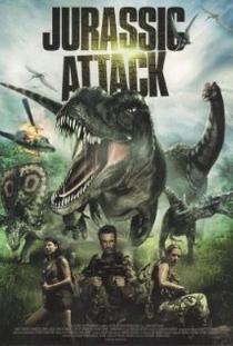 Jurassic Attack  - Poster / Capa / Cartaz - Oficial 1