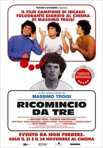Recomeçar do Três - Poster / Capa / Cartaz - Oficial 1