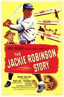 A História de Jackie Robinson - Poster / Capa / Cartaz - Oficial 1