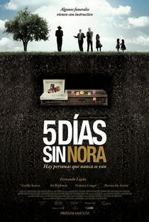 Cinco Dias Sem Nora - Poster / Capa / Cartaz - Oficial 1
