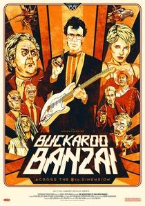 As Aventuras de Buckaroo Banzai - Poster / Capa / Cartaz - Oficial 8