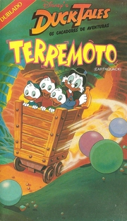Duck Tales: Os Caçadores de Aventuras - Terremoto - Poster / Capa / Cartaz - Oficial 1